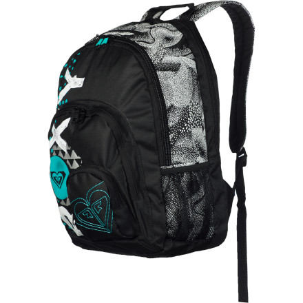 Camp and Hike Travel, work, or play, you always need a backpack to keep your gear all in one place. The Roxy Noble Trek Backpack does all of the above with panache. - $33.60