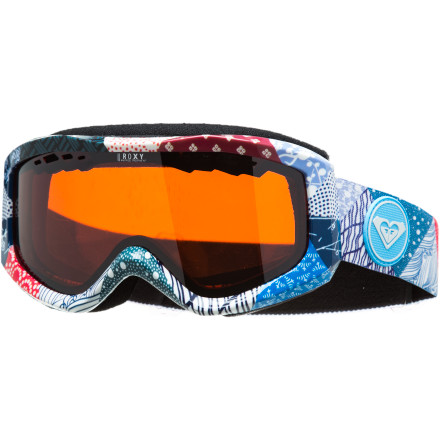 Snowboard You don't need any bells or whistles; you just want a goggle that offers clear vision and won't fog, which is why you want the Roxy Sunset Goggle. Featuring a distortion-free lens that's perforated for ventilation and includes anti-fog and anti-scratch treatments, the Sunset gives you everything you need and nothing you don't. - $55.96