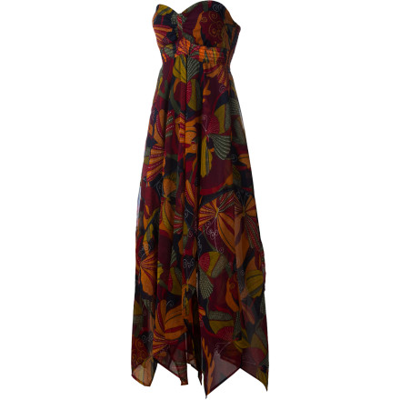 Surf The Roxy Women's Sea Siren Maxi Dress unleashes your inner sea goddess. - $62.55