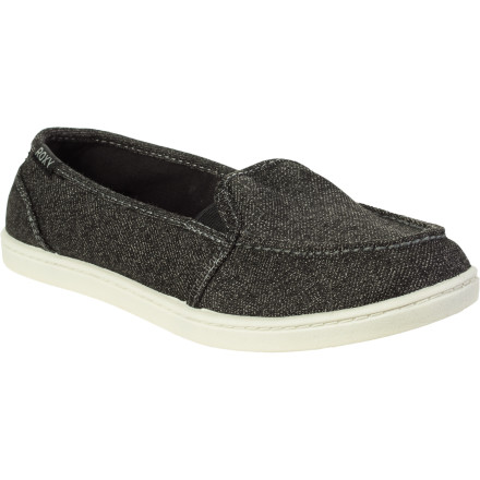 Surf The Roxy Lidette Shoe features a low-key style and low-profile shape that can be worn to and from the beach, or even around town. - $23.40