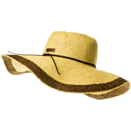 Surf Summer equals a beach chair, a gentle breeze, an umbrella-drink, and your Roxy By The Sea Hat. - $28.00