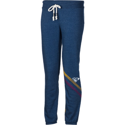 Surf Scootch into the Roxy Women's Panorama Pant, throw a bag of popcorn in the microwave, and settle down on the couch with a season's worth of your favorite show when rain pounds the roof. - $23.10