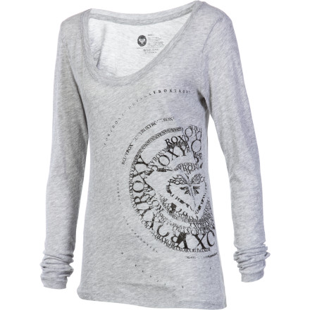 Surf Roxy Round And Round T-Shirt - Long-Sleeve - Women's - $19.18