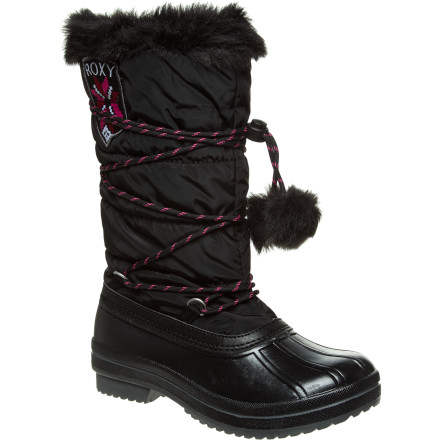 Ski Slide out of your ski or snowboard boots and into the Roxy Women's Slush Boots. These cozy boots feature Thinsulate linings for extra warmth when you head to the ski lodge for a cup of hot cocoa. - $65.40