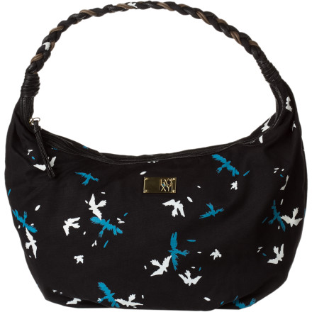 Surf All systems are GO, so blast out into the day with the Roxy Women's Go Ahead 2 Bag on your shoulder. Its ample space holds all your daily necessities, while its cheerful print and stylish looks make your day. - $33.00