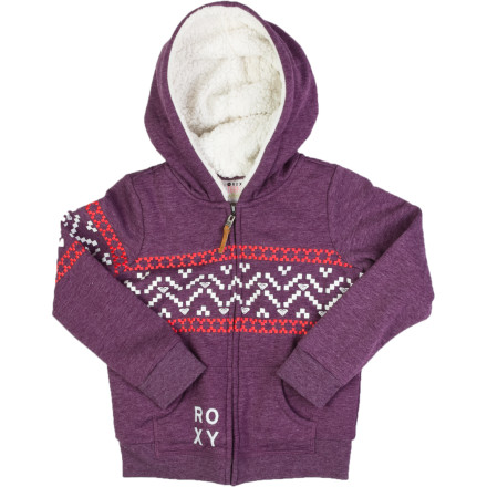 Surf Roxy Swings Full-Zip Hoodie - Girls' - $29.70