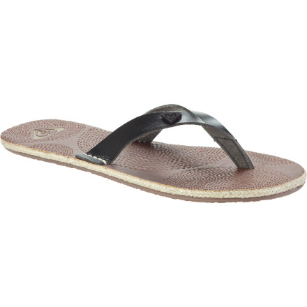Surf If the upcoming trip to the Greek isles is your first, just remember that the Roxy Women's Santorini Sandals and nice shades are all you need to go with a wardrobe of swimwear, shorts, skirts, and comfortable tops that suit sunny days and hot nights. - $17.00