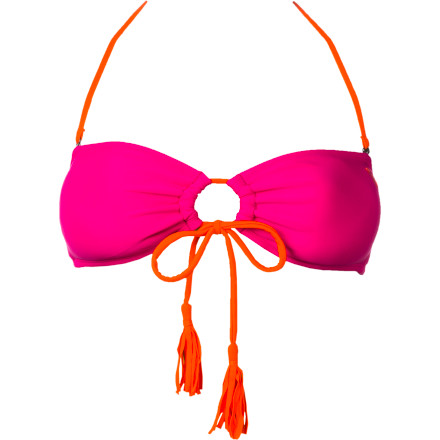 Surf Roxy Seaswell Adjustable Bandeau Bikini Top - Women's - $27.50
