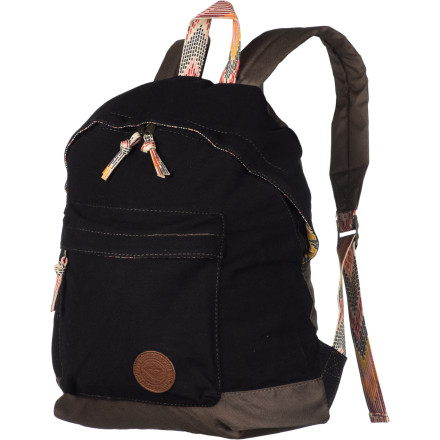 Camp and Hike The Roxy Tracker Backpack takes the iconic school backpack look and gives it a twist that's both feminine and rugged. The Tracker is simple yet ready for whatever your hectic life can throw its way. - $30.80