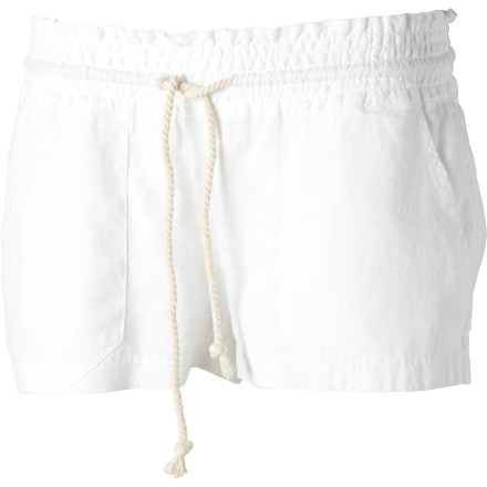 Surf Slip into the short Roxy Women's Ocean Side Shorts when you want to show off your legs in fun, sporty sexiness. These stylish little bottoms are great for displaying your summer tan. - $28.88
