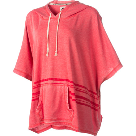 Surf Roxy Pathway Fleece Hooded Pullover - Women's - $38.68
