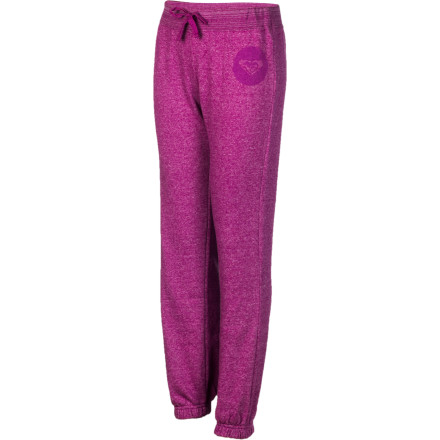 Surf On cold, wet days, she can lounge around the house in the Roxy Girls' Cloudy Day Pants. These cozy fleece pants keep her warm and comfortable when she curls up on the couch and catches up on her favorite teen drama show. - $15.20