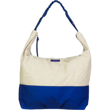 Surf It's easy to see how the Roxy Women's Meadow Purse becomes your go-to purse for everyday shenanigans. Its simple shoulder-bag style, color blocking, and spacious main compartment have you covered when you travel, shop, or run errands. - $33.57