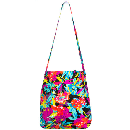 Surf It could be the bright, cheery colors of the Roxy Women's Getaway Tote that puts the pep in your step and a smile on your face, but it's probably knowing that with this tote you know you're in for some outdoor fun. Made for the beach with a wide opening that welcomes all your beach goodies and a flip-flop pocket, but equally game for the park or day trip, this tote knows what makes you happy. - $27.20