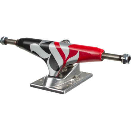 Skateboard Armed with quality construction and a lower center of gravity, the Royal Four Low Skate Truck is here to win the war on wheel bite and speed wobbles. - $23.97