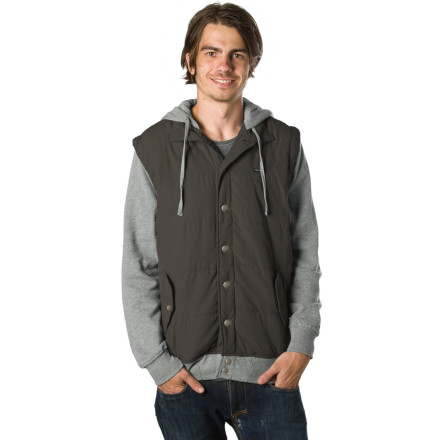 If hoodies elected officials to govern and make the best decisions for all the other hoodies in the land, the RVCA Puffer Fleece II Hoody would be a reputable incumbent of awesomeness. - $50.37