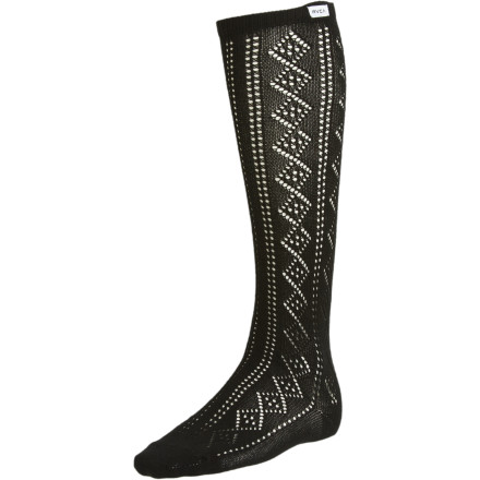 You can work the sexy school-girl look like nobody's business with the RVCA Women's West Bound Knee Socks. Wear these sassy stockings with a pleated plaid skirt and a cardigan if you really want to stir things up. - $8.97