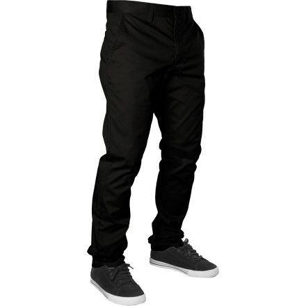 Everybody's working for the RVCA Weekender Pant. And considering its comfy cotton twill fabric and modern mid-fitting design, it's easy to see why. - $36.71