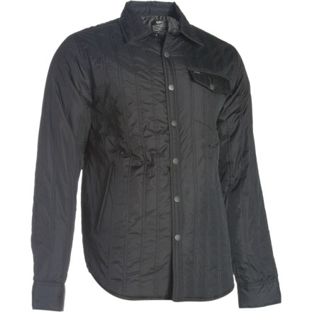 RVCA's Bucky Quilted Shirt Jacket blurs the lines between work shirt and insulated jacket. It's probably easiest to just call it a shacket, or a jirt. Whichever makes you want to buy it more. - $51.57