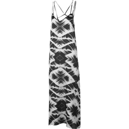 Entertainment The RVCA Spirit Voice Maxi Dress is a casual summer dress with the soul of an evening gown. When you wear this dress, you might be strolling the beach or just walking to the store, but you'll feel like you're on the red carpet. - $34.81