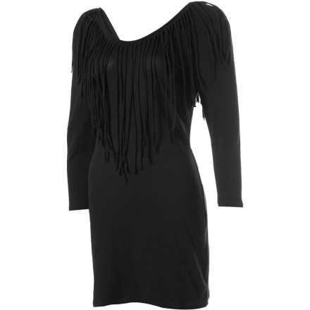 Entertainment Whether you choose to dance under the stars or frolic in daylight, the RVCA Marquee Moon Dress will accompany you with its fabulous fringe detail and sweet artisan style. - $16.78