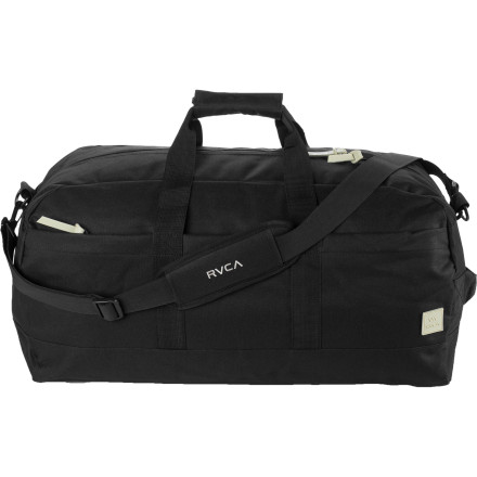 Camp and Hike Put your stamp on the weekend and pack your things in the RVCA Tramp Weekender Duffel. - $59.95