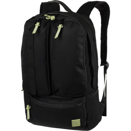 Camp and Hike Pack up your weekend necessities in the RVCA Spur Backpack and get the heck out of dodge. Or stash refreshments in this pack and roll over to the park. - $69.95