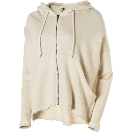 RVCA Stand Up Full-Zip Hoodie - Women's - $31.98