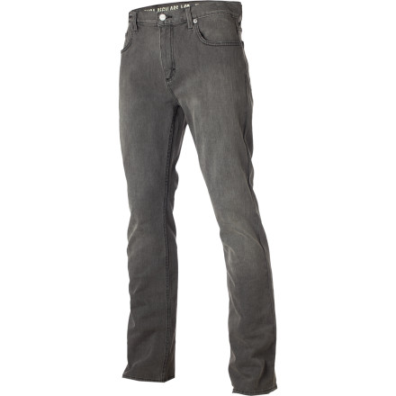 Skateboard The RVCA Regulars Denim Pant combines a casual, regular cut with impeccable style achieved through dark washes and subtly branded details. These make it wearable for all situations from just kicking it to skating or even making a good first impression. - $61.95