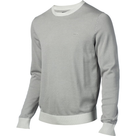 The RVCA Men's Barge Sweater will live up to its name by barging into your closet, completely taking over, and making those wack sweaters you own feel so insecure they unravel themselves into a pile of yarn. - $23.08