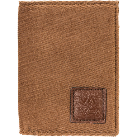 Entertainment RVCA Mill Folding Wallet - $15.37