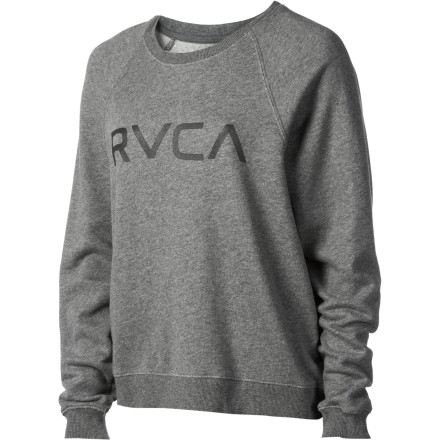 Big RVCA Crew Sweatshirt - Women's - $35.16