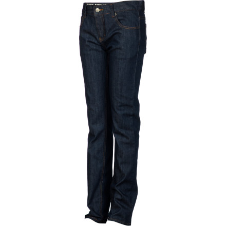 Keep him looking fresh and put-together in the RVCA Boys' Regulars Extra Stretch Denim Pant. - $35.07