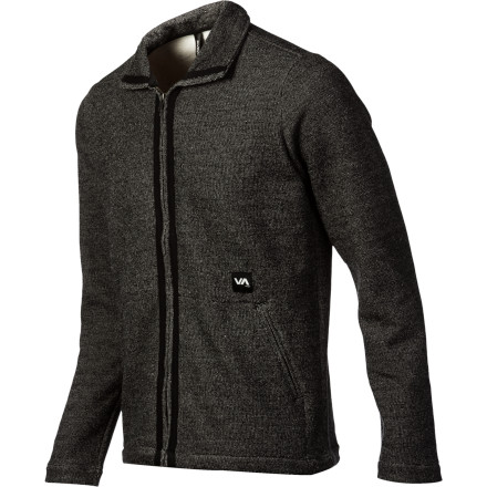 Maybe RVCA named the Men's Smokey's Fleece Sweater such because it has smoking-hot looks or its sophisticated style brings to mind a pipe by fireside. Or maybe it's honoring a guy who likes to swap out his hoodie once in a while for a cool, casual fleece alternative that easily goes from beach to park to bar. Because you gotta have options. - $50.37
