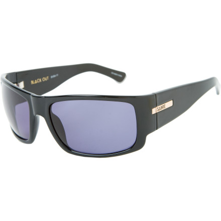 Entertainment Despite the clever-though-misleading title, you can still see well while wearing Sabre Vision Blackout Sunglasses. You can see better in bright sunshine, actually, due to the full coverage of the over-sized lenses. - $84.95