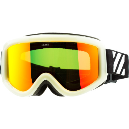 Ski Throw on the Sabre Spring Break Goggle, do a keg stand and pass out in a puddle of your own bliss. This collab with Spring Break line from Corey Smith Snowboards provides 100% UV protection, fog-resistance, and even includes an extra lens so you can ride on cloudy days and after dark. The glow-in-the-dark frame may not help you find your way home after a daylong bender, but you'll look pretty cool staggering around dark mountain roads. - $72.21
