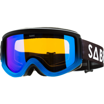 Snowboard Wear the Sabre Space Shredder Goggle while shredding on earth and then dip out to lay down first tracks on extraterrestrial realms. - $67.96