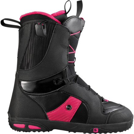 Snowboard You don't have to blow your bank account to get a pro-level all-mountain snowboard boot. The Salomon Ivy Snowboard Boot has all the park and pipe chops you'll ever need (just ask pro rider Jenny Jones) and leaves you enough loot at the end of the day to buy dinner. - $125.94