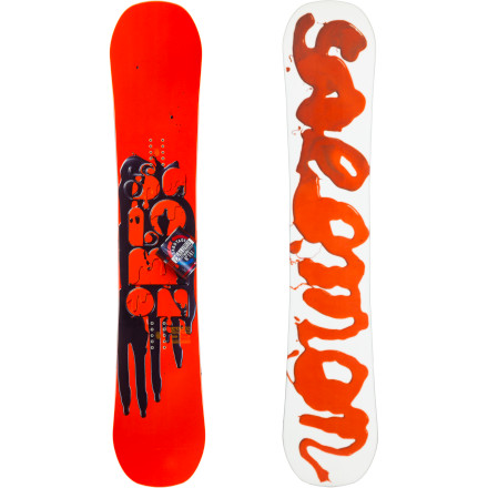 Snowboard Like a sasquatch turned trained assassin, the Salomon Sabotage Wide Snowboard can pick apart its enemies with precision and mind-reading response, but it also has the stomping power and stability big-footed riders require. Whether you're after pillow lines, jump lines, or jib lines, the Sabotage Wide uses its true-twin shape, poppy flex, and the versatile ride of Flat Out Camber to destroy the whole mountain. - $399.90