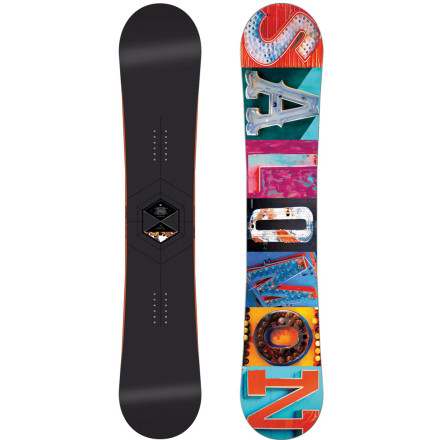 Snowboard Salomon stripped down, then souped up it's flagship freestyle board to come up with the Official Classicks Freestyle Snowboard. It was able to drop nearly half a pound without compromising durability for a park weapon without equal in Salomon's line. - $398.93