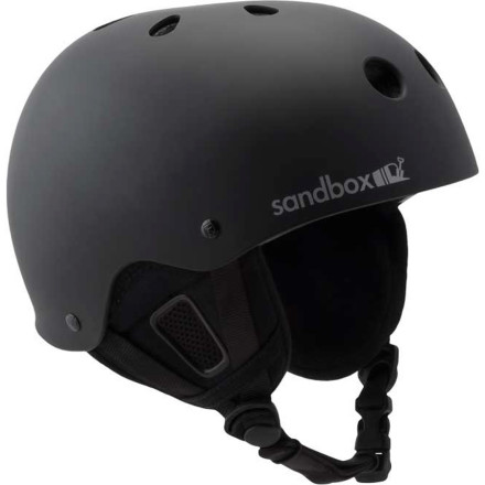 Snowboard Strap the Sandbox Legend Helmet on and ride assured with the knowledge that this burly piece of high-tech design will protect your head from impact. This versatile helmet mixes clean low-profile style with tenacious strength to help keep you safe whether you're snowboarding, skateboarding, biking, or just trying to survive a serious 'discussion' with that roommate who likes to throw things when she gets upset. - $71.97