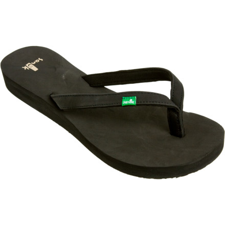 Surf You fell in love with Sidewalk Surfers. Now grab the Sanuk Women's Nirvana Sandal and experience deliverance from the suffering and bad karma of lesser flip-flops. - $14.27