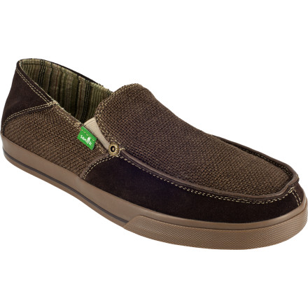 The Standard Trim Shoe features Sanuk's VulcLite construction for free-flexing comfort that's almost as good as being barefoot. An anti-microbial liner coating deters funky odors, and the canvas upper breaks in with time to become even softer and more flexible. - $17.99