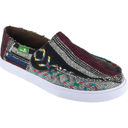 Every Cinco De Mayo celebration must have at least a little dancing, and the Sanuk Kids' Standard Poncho Shoe matches the festive atmosphere and provides comfort for new dance steps. A poncho-inspired upper proclaims his or her south-of-the-border style and a durable sole ensures comfortable dancing, pinata whacking, and other games. - $29.97