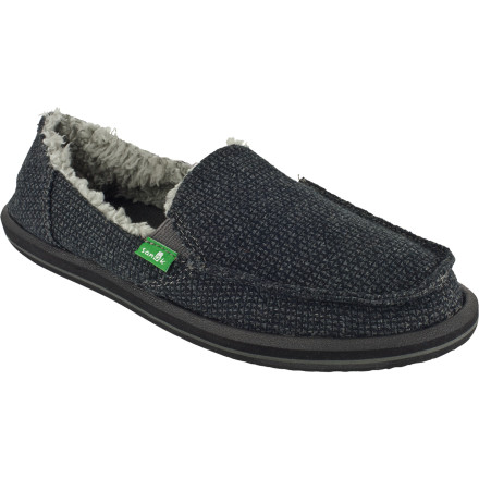 Entertainment Thaw out your chilly toes when you slide your foot inside the Sanuk Women's Snowfox Chill Slipper. It's furry on the inside, durable on the outside, and it's free of pesky, annoying laces. You'll thank yourself later for keeping your footwear simple. - $35.97
