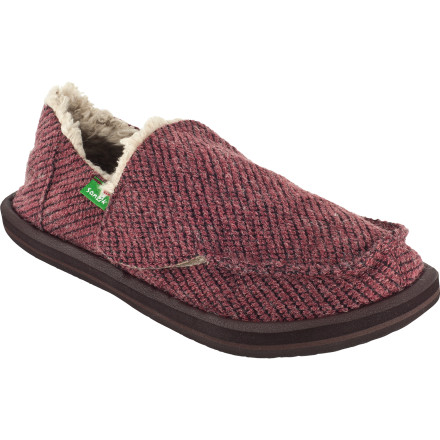 Entertainment The Sanuk Kids' Snowfox Chill Slipper is kind of like wearing your favorite blanket from home on your feet without actually wearing your favorite blanket from home on your feet. - $22.48