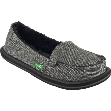 Entertainment With the cozy status of a fireplace-heated mountain lodge and a good read with the casualocity of a sandal, the Sanuk Women's Shorty Chill Slipper provides effortless warmth with laid-back style. - $35.97
