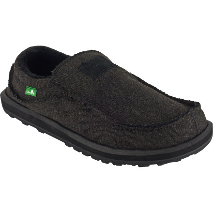Entertainment Water-resistant construction means that the Men's Kyoto Chill Slipper can keep your toes comfortable and dry. This is a versatile slipper that treats your feet to a dose of cozy whether you're traveling or roaming around town. - $50.97
