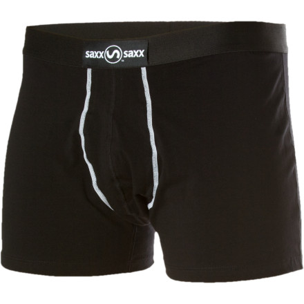The Saxx Men's 24-Seven Trunk is for guys who prefer a higher cut without sacrificing comfort. - $24.95