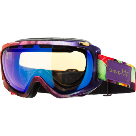 Ski Half-pipe sensation Roz Groenewoud is all about giving back to the community, so it's no wonder that she collaborated with Scott to design the Roz G Signature Off-Grid Goggle. Proceeds of this stylie goggle go to the non-profit organization Roz is an ambassador for, 'Right To Play,' that uses sport and play to enhance child development in disadvantaged areas. - $90.97